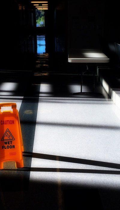 hallway, school, caution